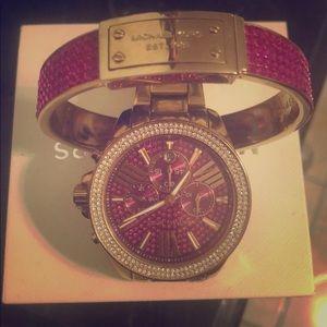 Michael kors bracelet and watch